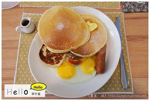《台南》Hello Hello 廚房 早午餐 下午茶 (18)