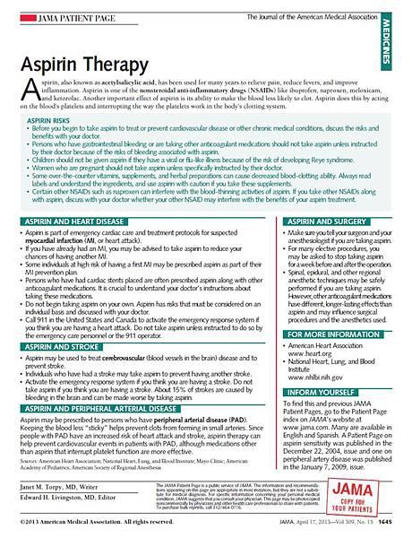 asprin therapy 2
