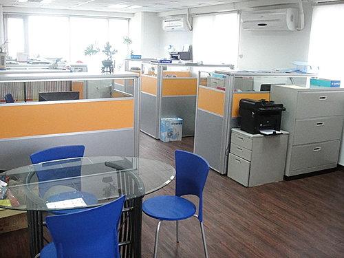 辦公室一隅