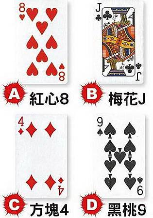 撲克牌占卜/你愛計較嗎