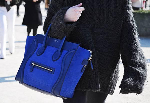 Celine-Luggage-blue-mini