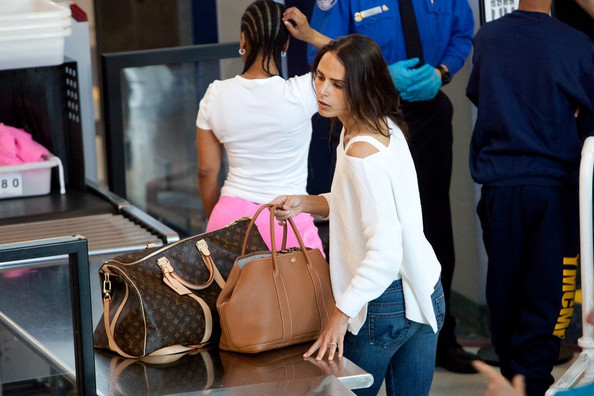 Jordana Brewster Vuitton Keepall 1