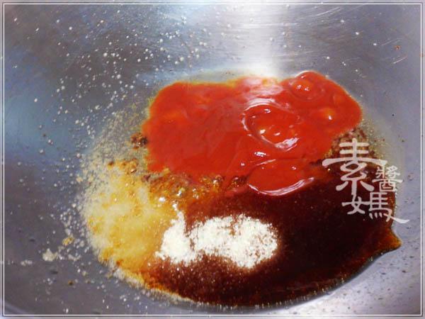 素食小菜 - 糖醋素小魚乾12.JPG