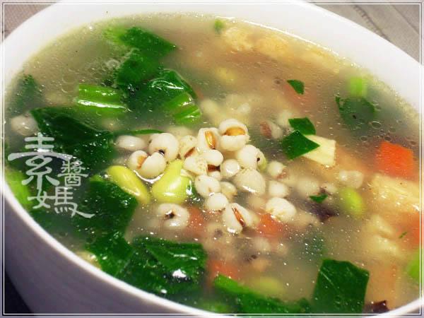健康輕食 - 美白薏仁粥12.JPG