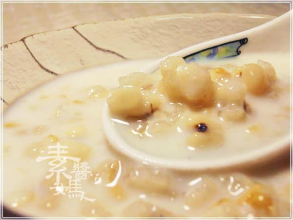 美白甜點 - 薏仁牛奶15.JPG