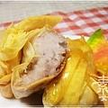 新年年菜料理-點心 芋泥黃雀15.jpg