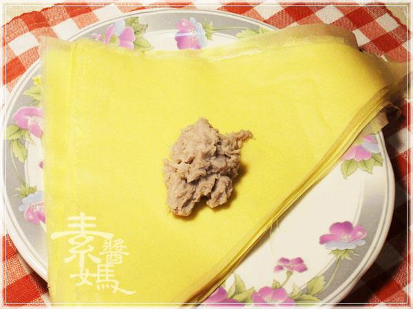 新年年菜料理-點心 芋泥黃雀06.jpg