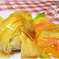 新年年菜料理-點心 芋泥黃雀13.jpg