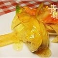 新年年菜料理-點心 芋泥黃雀14.jpg