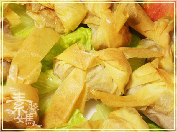 新年年菜料理-點心 芋泥黃雀12.jpg