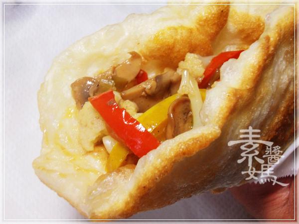 美味小吃-磨菇半月燒26