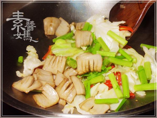美味家常菜-素回鍋肉12