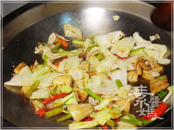 美味家常菜-素回鍋肉14