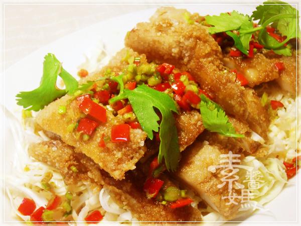 泰式料理-素食泰式椒麻雞24