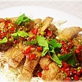 泰式料理-素食泰式椒麻雞20