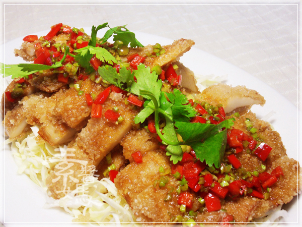 泰式料理-素食泰式椒麻雞22