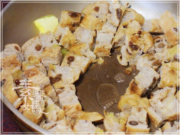 歐式麵包大變身 - 炒麵包丁05