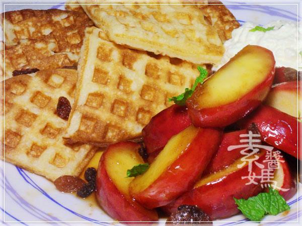 焦糖蘋果優格鬆餅(+無奶蛋版本)42