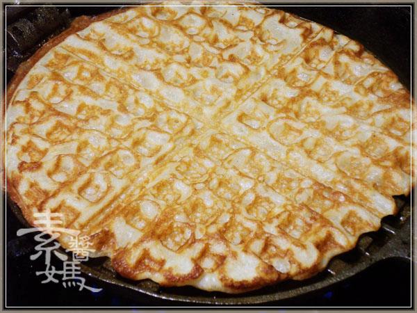 焦糖蘋果優格鬆餅(+無奶蛋版本)13