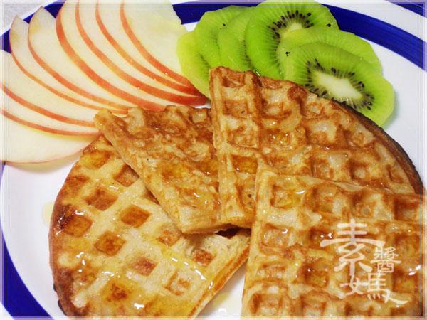 焦糖蘋果優格鬆餅(+無奶蛋版本)15
