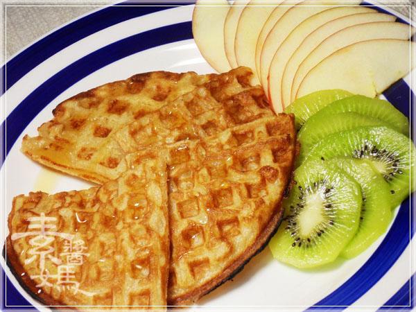 焦糖蘋果優格鬆餅(+無奶蛋版本)16