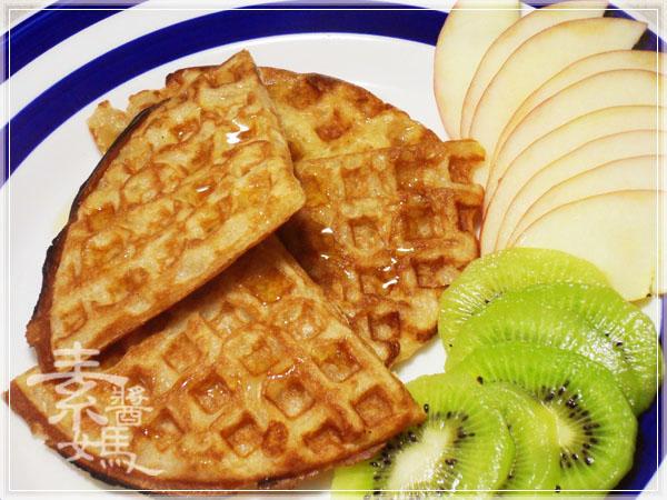 焦糖蘋果優格鬆餅(+無奶蛋版本)17