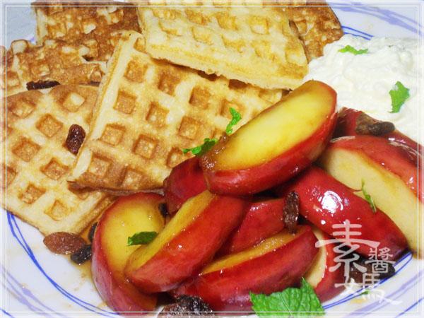 焦糖蘋果優格鬆餅(+無奶蛋版本)41