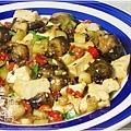 炒豆豉草菇(素豆豉蚵)30