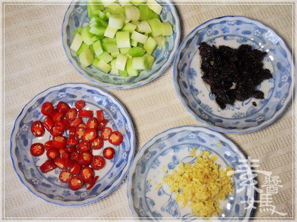 炒豆豉草菇(素豆豉蚵)04