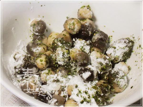 炒豆豉草菇(素豆豉蚵)09