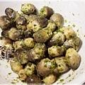 炒豆豉草菇(素豆豉蚵)10