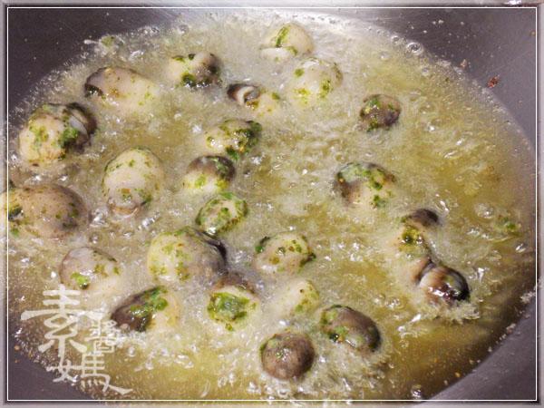 炒豆豉草菇(素豆豉蚵)12