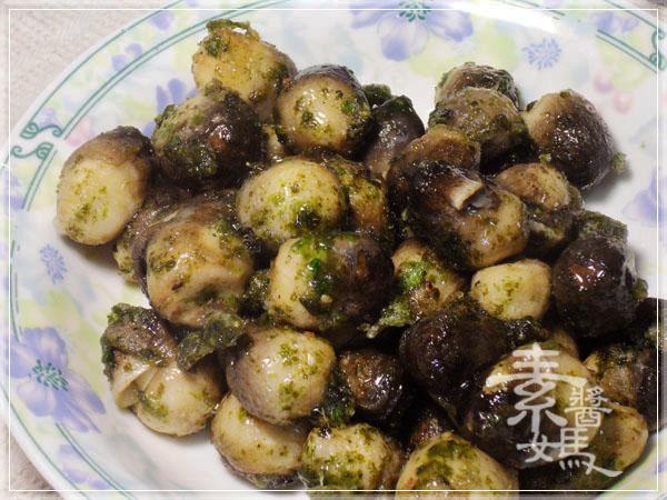 炒豆豉草菇(素豆豉蚵)13