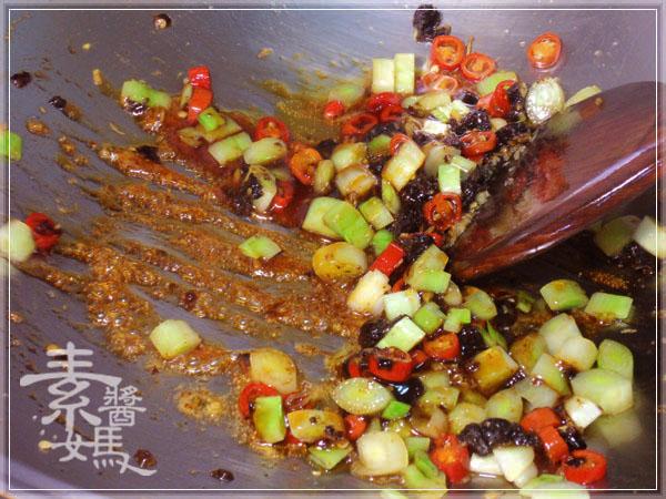炒豆豉草菇(素豆豉蚵)19
