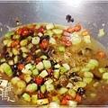 炒豆豉草菇(素豆豉蚵)20