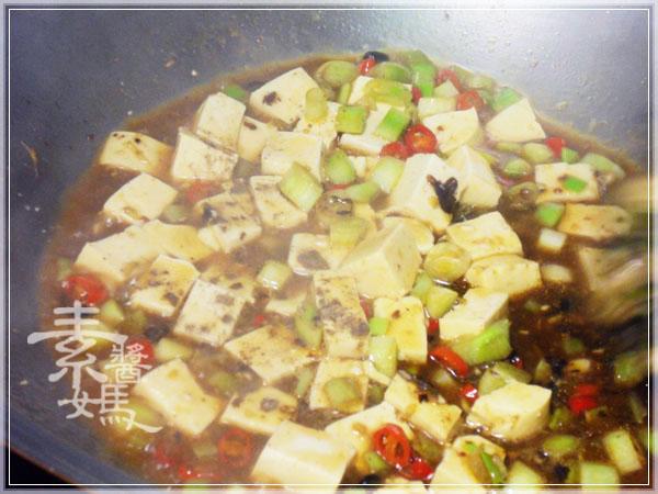 炒豆豉草菇(素豆豉蚵)24