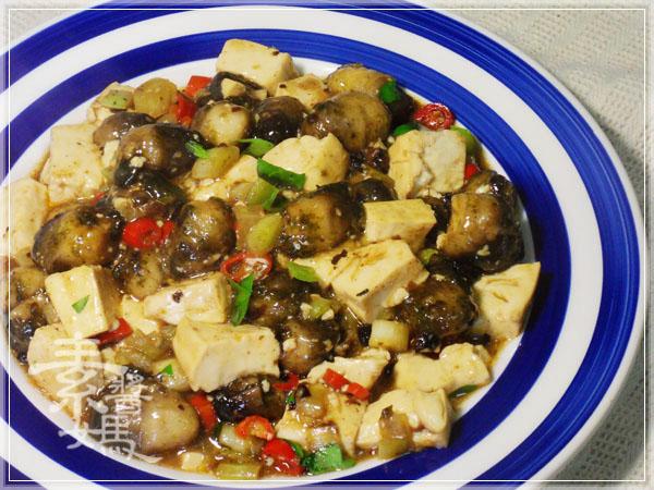 炒豆豉草菇(素豆豉蚵)28