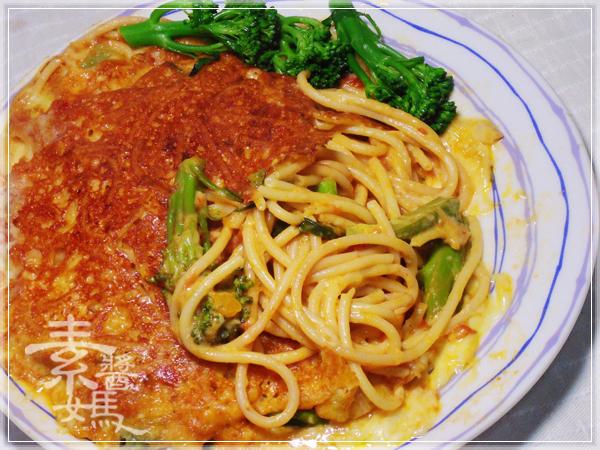焗烤番茄義大利麵(免烤箱)26