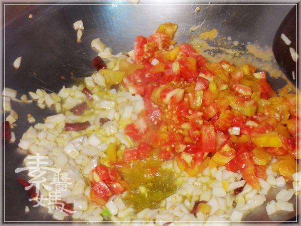 焗烤番茄義大利麵(免烤箱)13