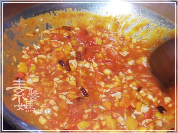 焗烤番茄義大利麵(免烤箱)15