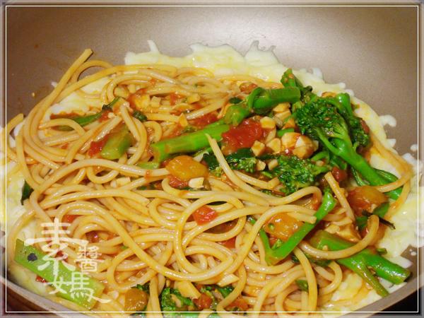 焗烤番茄義大利麵(免烤箱)21