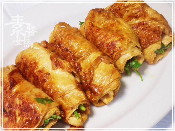 家常菜-香菜豆包捲12