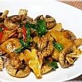 素食快炒料理-素炒螺肉(炒磨菇)15