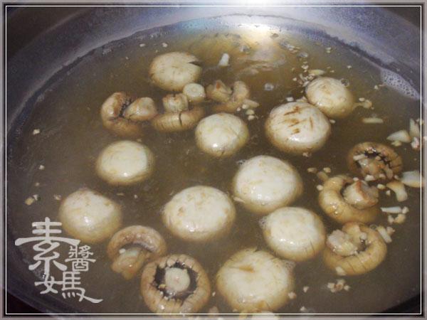 素食快炒料理-素炒螺肉(炒磨菇)04