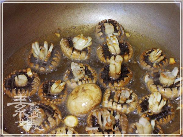 素食快炒料理-素炒螺肉(炒磨菇)06
