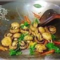 素食快炒料理-素炒螺肉(炒磨菇)09