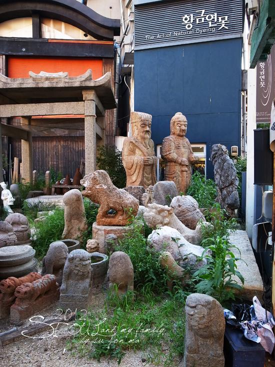 20120826 仁寺洞-五世界香-月鳥-O'SullocTea Ho-亂打秀57