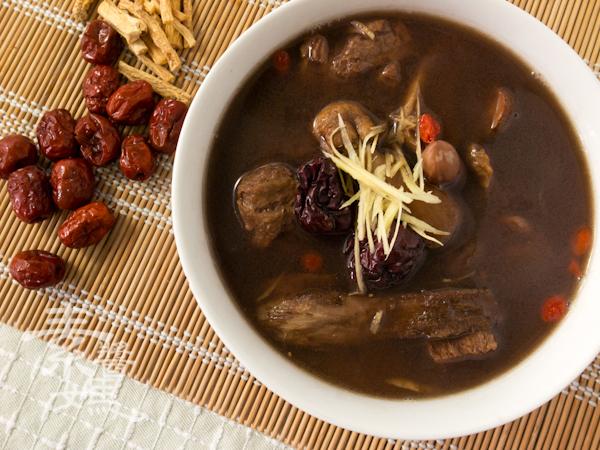 冬季補湯-素食藥燉排骨-10