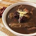 冬季補湯-素食藥燉排骨-7