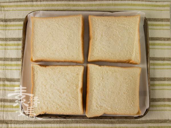 簡單早餐-焗烤土司-4